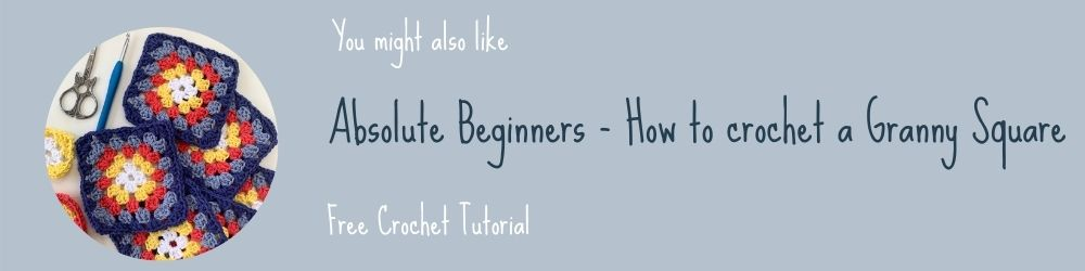 How to crochet a granny square for absolute beginners