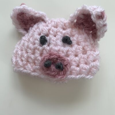 The Big Knit – Hat 15 – A Percy the Pig