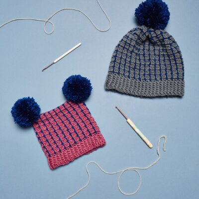 block stitch hats crochet now magazine