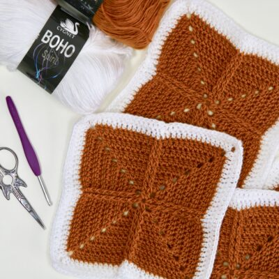 How to crochet the RtrF or FPDC to add texture