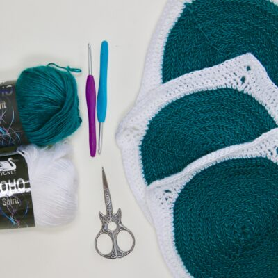 How to crochet a circle – (BLO) Back Loop Only