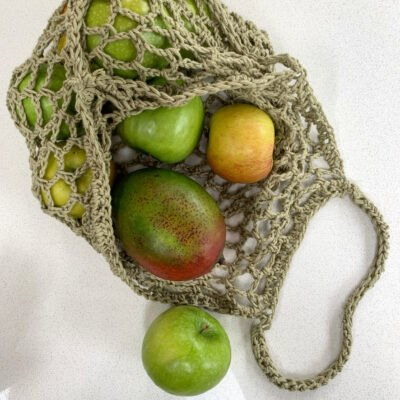 Crochet Market Tote Pattern – Eco Grab Bag……