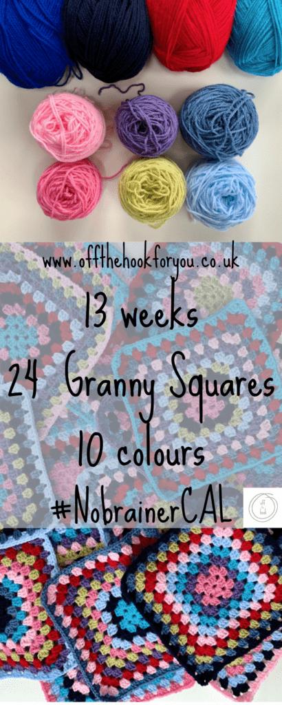 granny square CAL - stash busting blanket