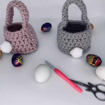 Quick Crochet Easter Basket
