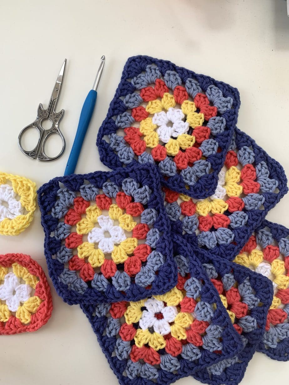 CJAYG granny squares how to