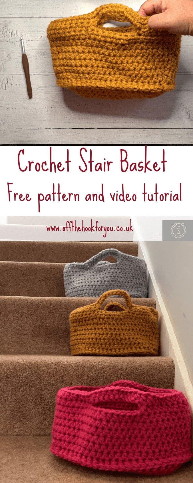 easy crochet basket oval pattern