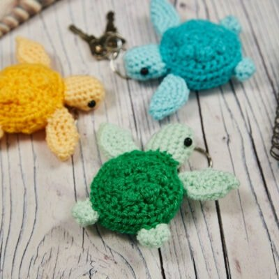 crochet mini turtle, www.offthehookforyou.co.uk
