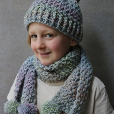Free Crochet Hat and Scarf patterns – quick and easy