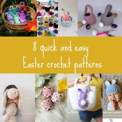 Quick Easter Crochet Patterns – Round up