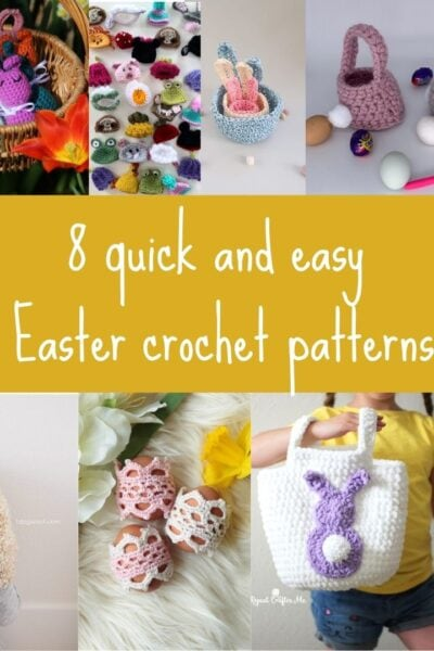 Quick and easy Easter crochet patterns
