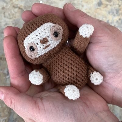 Crochet Sloth Pattern – Easy and Free