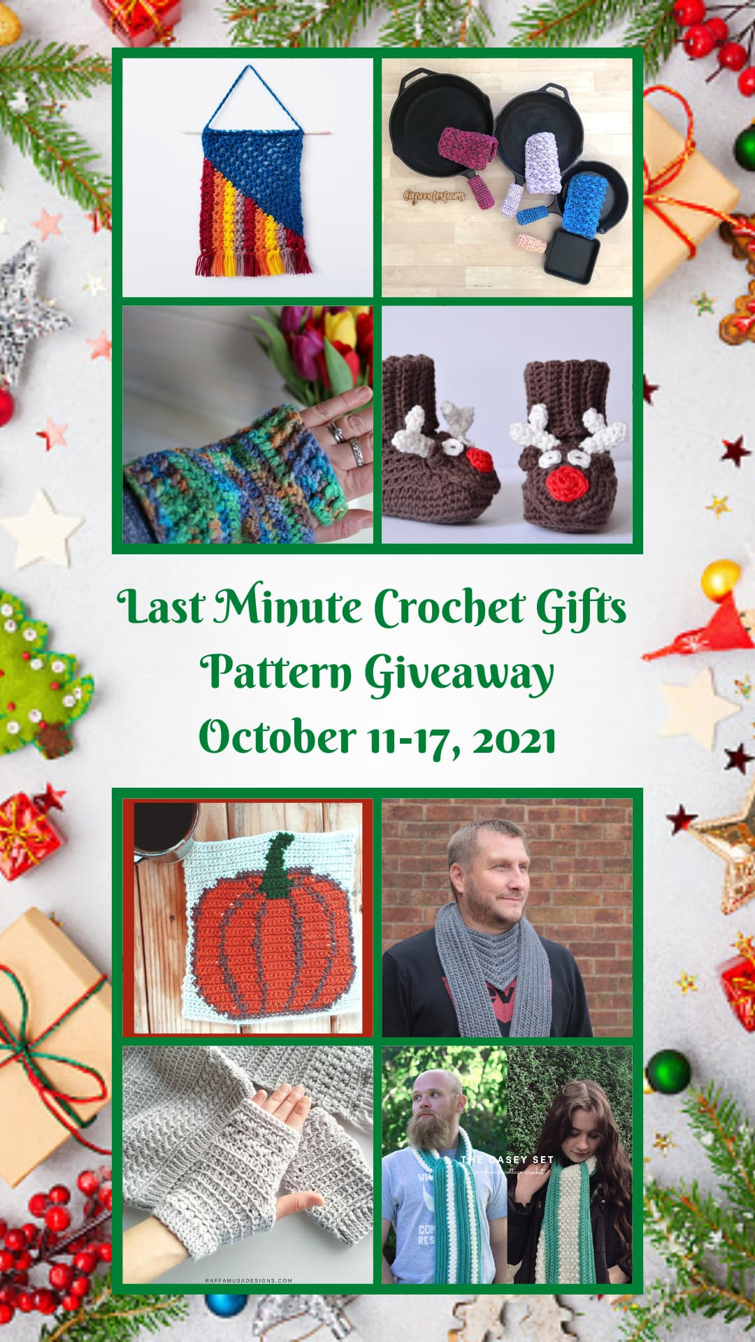Quick last minute crochet gifts